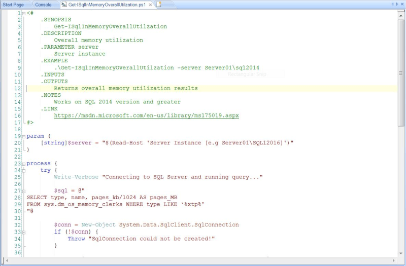 PowerShell Scripts for SQL Server full screenshot