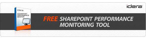 Free SharePoint performance monitoring tool