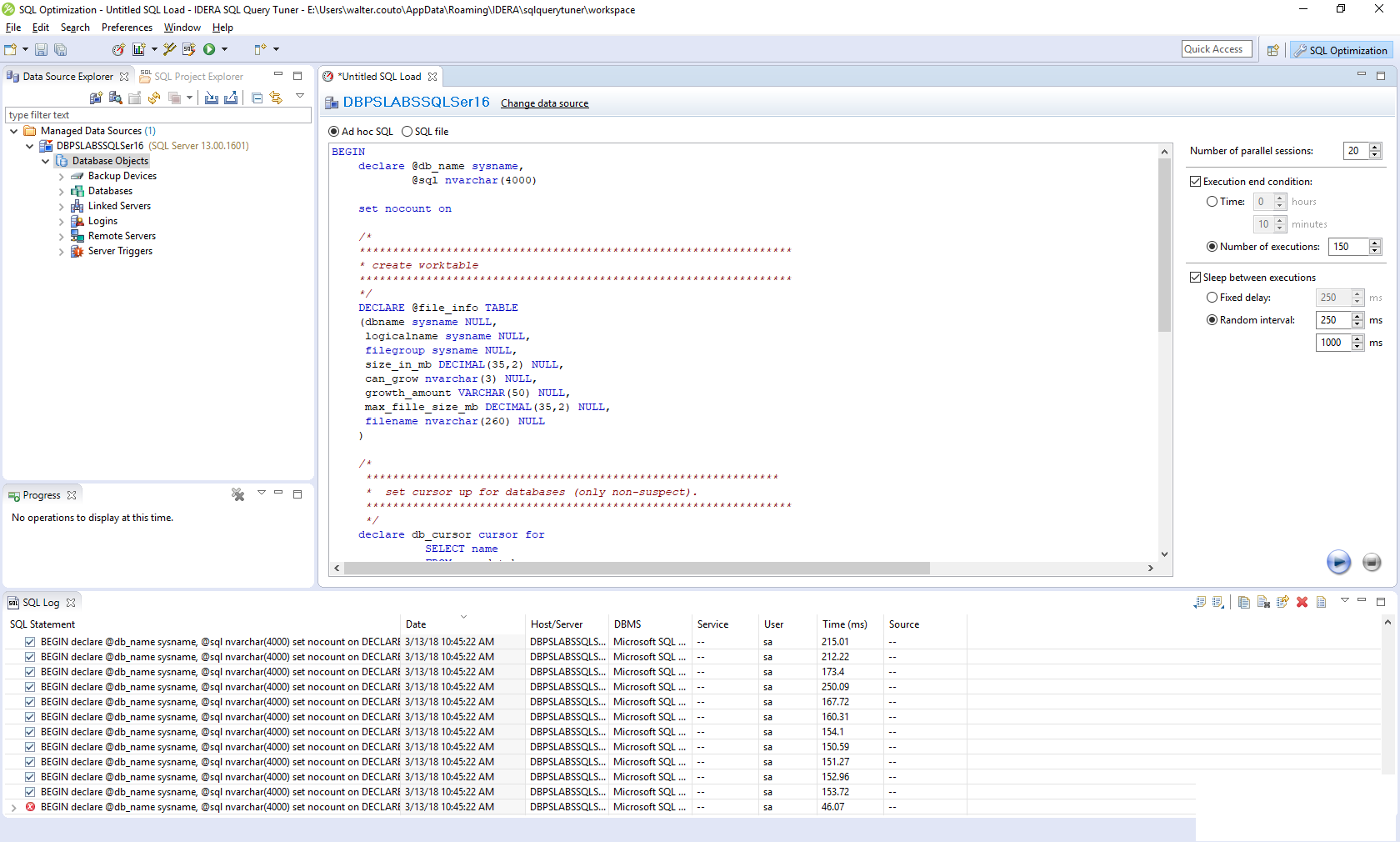 Product Tour for SQL Query Tuner for SQL Server | IDERA