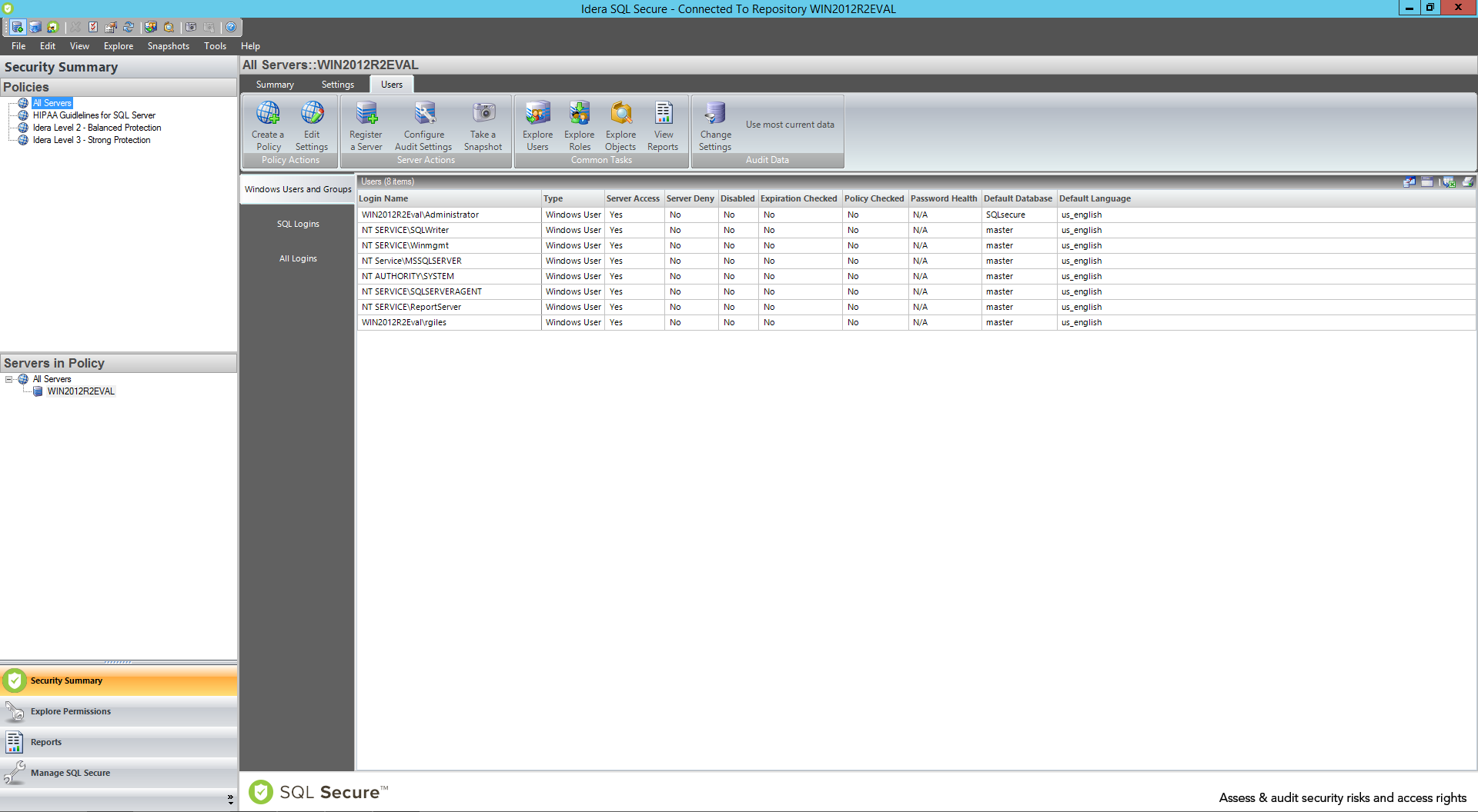 Take Control Of Permissions With Sql Secure Tool Idera